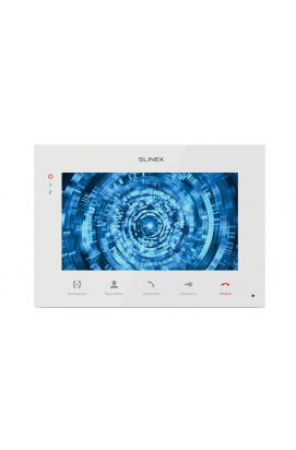 Цветной видеодомофон Slinex SQ-07M White