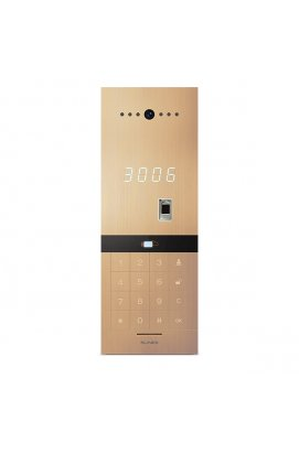 Вызывная видеопанель Slinex Sitara Bio (gold) для IP-домофонов