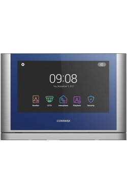 Видеодомофон Commax CDV-1024MA Blue+Dark Silver