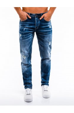 Джинсы мужские D856 - голубой
