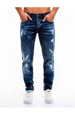 Джинсы мужские D861 - голубой