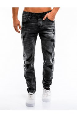 Джинсы мужские D861 - черный
