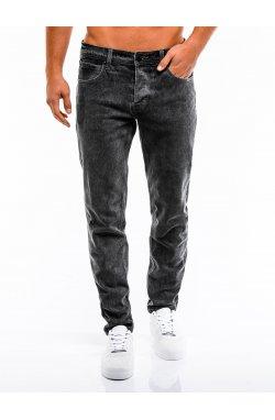 Spodnie męskie jeansowe P863 - Черный