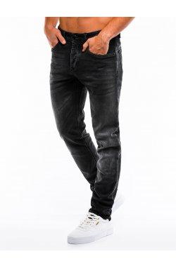 Джинсы мужские D864 - черный