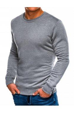 Свитшот мужской S978 - szary melanż