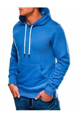 Bluza męska rozpinana z kapturem B979 - синий