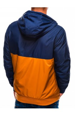 Куртка мужская демисезонная K420 - коричневый