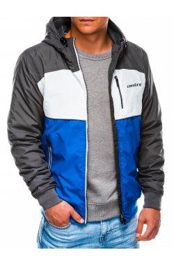 Куртка мужская демисезонная K420 - голубой