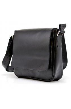 Мужская кожаная сумка через плечо GA-0002-3md TARWA Черный