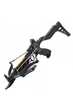 Арбалет пистолетного типа Man Kung MK-TCS2BK (длина: 620мм, сила натяжения: 18кг),