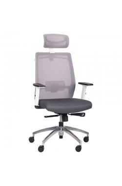Кресло Install White Alum Grey/Grey