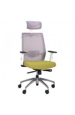 Кресло Install White Alum Grey/Green