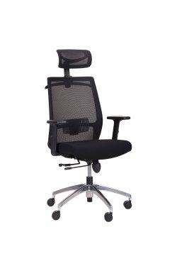 Кресло Install Black Alum Black/Black