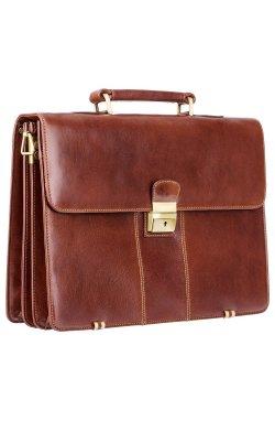Портфель мужской Visconti 1775 Warwick (Brown) - натуральная кожа, коричневый
