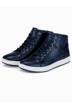 Men's ankle shoes T328 - Синий