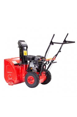 Снегоуборщик бензиновый, с приводом на колеса, 5 скоростей + 2 задние, 4-х тактный двигатель 5,5 HP / 4,1 кВт, рабочая ширина 56