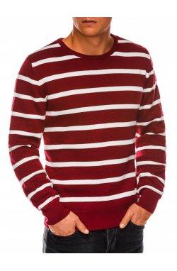 Sweter męski E155 - бородовый