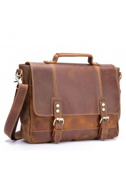 Портфель кожаный мужской bx8321 Bexhill Коричневый