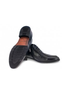 Ботинки мужские Carlo Delari 7194127-Б цвет черный, кожа