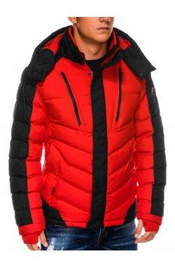 Куртка мужская демисезонная K417 - красный