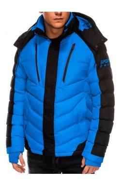 Куртка мужская демисезонная K417 - голубой