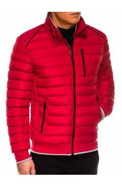 Куртка мужская демисезонная K422 - красный