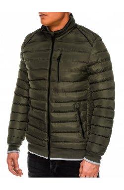 Куртка мужская демисезонная K422 - зеленый