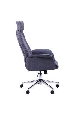 Кресло Madison хром, тк.серый