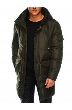 Куртка мужская демисезонная K409 - olive