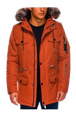 Куртка мужская демисезонная K410 - оранжевый