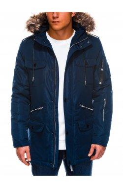 Куртка мужская демисезонная K410 - Синий