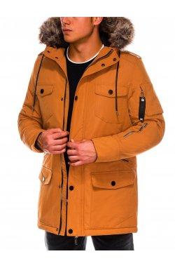 Куртка мужская демисезонная K410 - Горчичный