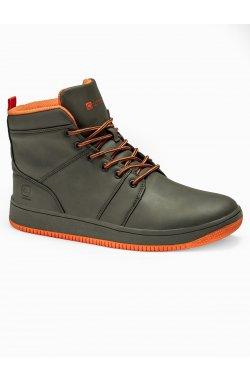 Men's sneakers T311 - зеленый