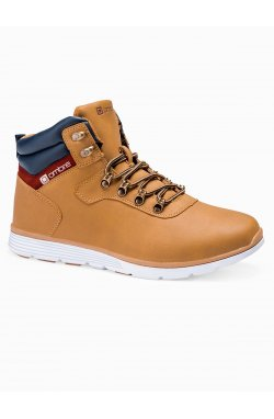 Men's winter shoes trappers T312 - бежевый