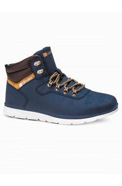 Men's winter shoes trappers T312 - Синий
