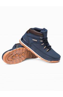 Men's winter shoes trappers T313 - Синий
