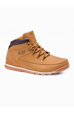 Men's winter shoes trappers T313 - бежевый