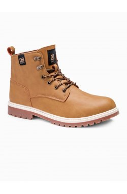 Men's winter shoes trappers T314 - бежевый