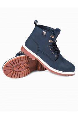 Men's winter shoes trappers T314 - Синий