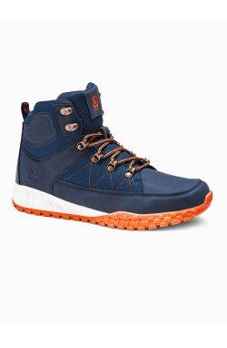Men's winter shoes trappers T315 - Синий