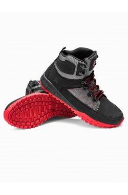 Men's winter shoes trappers T315 - черный