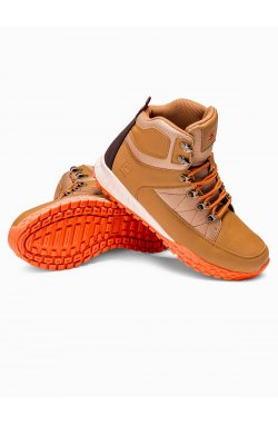 Men's winter shoes trappers T315 - бежевый
