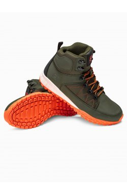 Men's winter shoes trappers T315 - зеленый