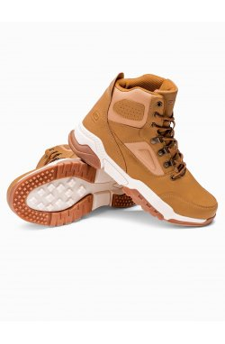 Men's winter shoes trappers T316 - бежевый