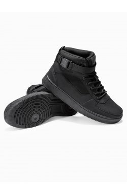 Men's sneakers T317 - черный
