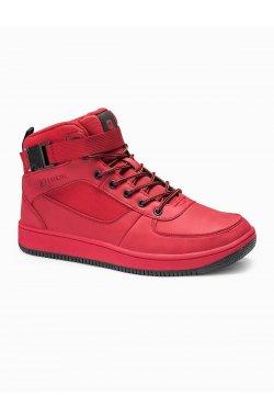Men's sneakers T317 - красный