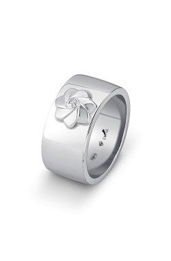 Серебряное кольцо с бриллиантом безe из родированного серебра 925-й пробы с бриллиантом (151577 )