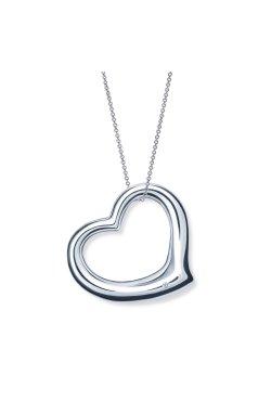 Кулон с бриллиантом сердце серебро cava.cool из родированного серебра 925-й пробы с бриллиантом (35104623)