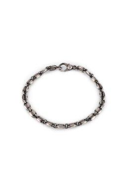 Тонированный серебряный браслет кофейное зерно из родированного серебра 925-й пробы (5109412 1)