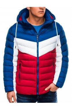 Куртка мужская демисезонная K418 - красный